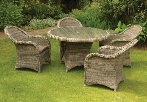 cane garden table chair set in aaya nagar