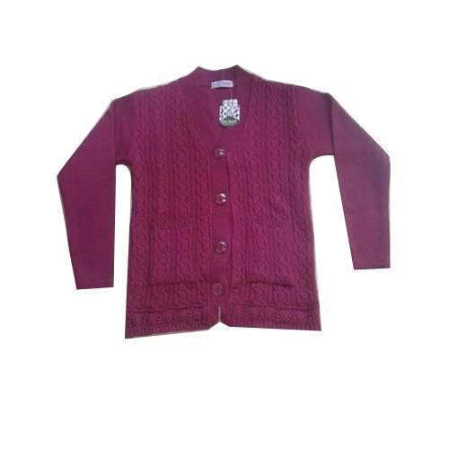 Ladies Cardigan Sweater
