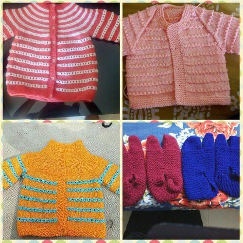 Handmade Winter Kids Sweater