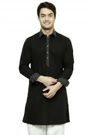Men's Cotton Slim Cuff Kurta in  Tughlakabad