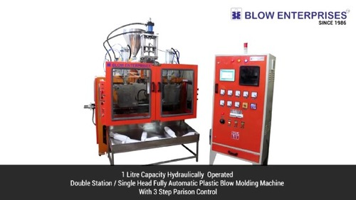 Industrial Double Station Blow Molding Machine