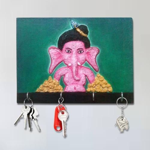 Key Holder Ganesh Wall Frame