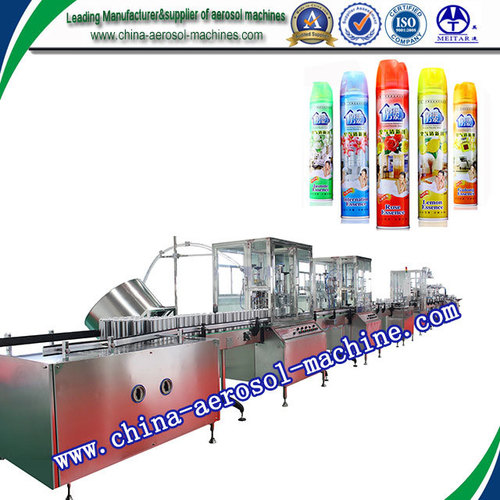 Aerosol Spray Paint Filling Machine