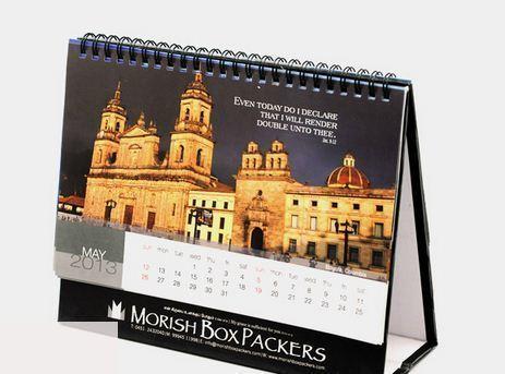 Table Calendars Printing