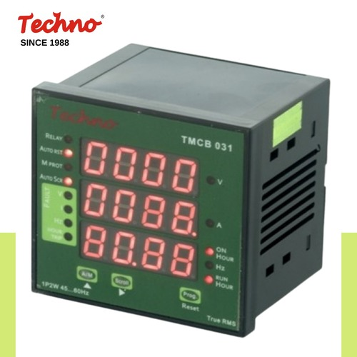 Programmable Digital Single Phase VIF Meter with Protection Relay in  New Area