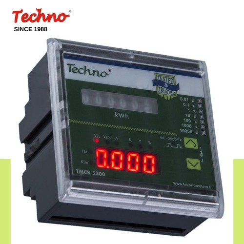 Three Phase Kwh Vif Gen-Dous Panel Meter in  New Area