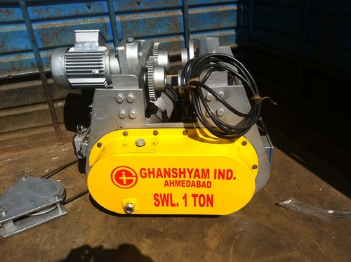 Flame Proof Electric Wire Rope Hoist in  Vatva