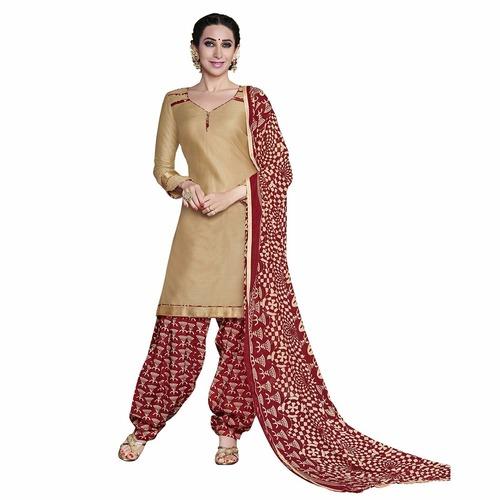Cotton Salwar Kameez Fabric in  Umarwada