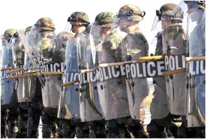 Riot Control Gear