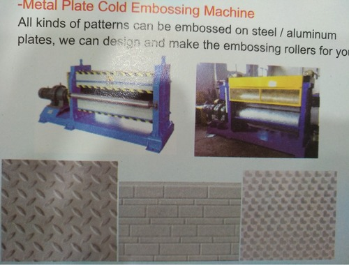 Embossing Machine For Metal Plate in   New District