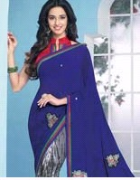 Simple Chiffon Saree (WA0037)