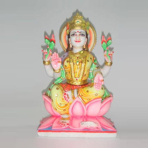 Goddess Lakshmi Maa Marble Statue in  Chandpole