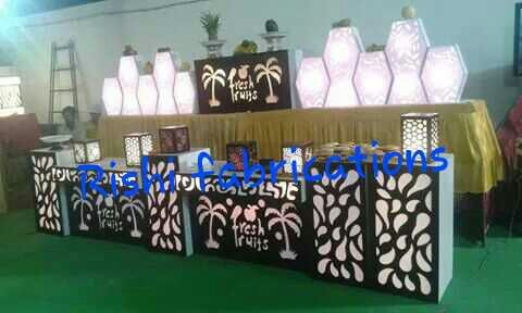 Commercial Acrylic Catering Counters in  Anand Parbat Indl. Area, Gali No.7