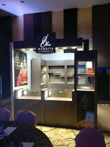 Jewellery Exhibition Stall Designing Services