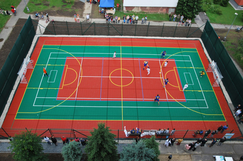 Multifunctional Court in  Airport Road