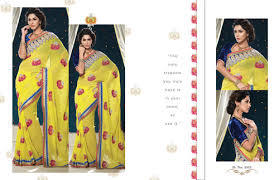 Ladies Printed Saree in  Chandni Chowk