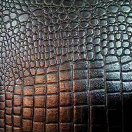 Crocodile Print Leathers in  Jajmau