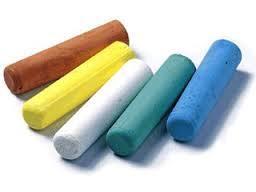 Multicolor School Chalk