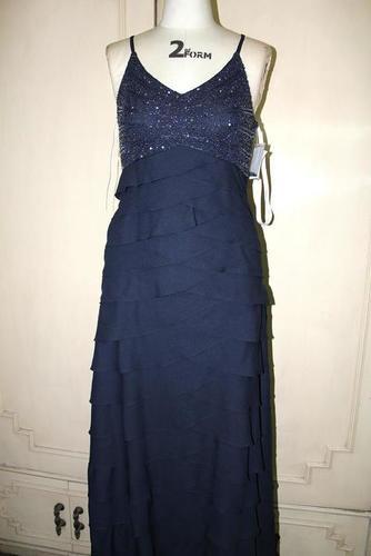 Ladies Sleeveless Evening Dress
