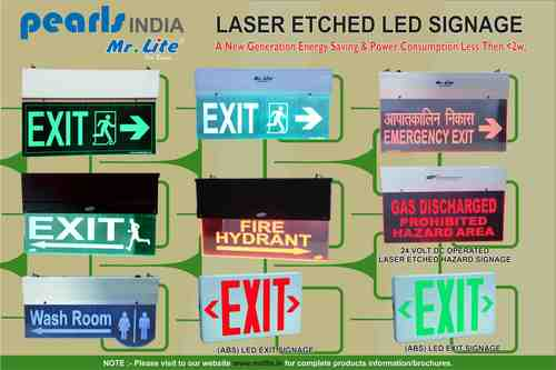 Laser Etched LED Signage in  Okhla - Ii