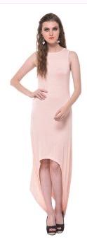Natural Colour D118 Hemline Dress