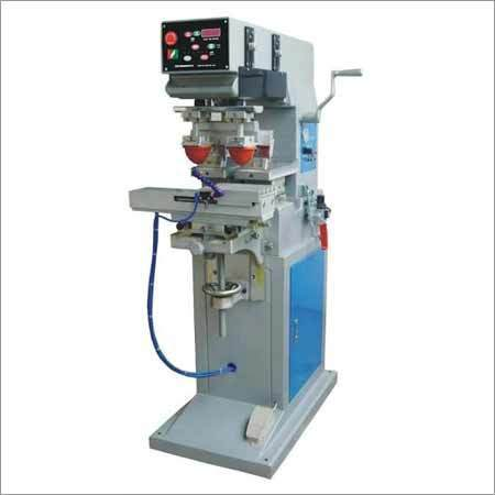 Automatic Double Color Pad Printing Machine