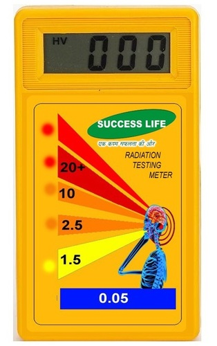 Mobile Radiation Testing Meter in   Ind area