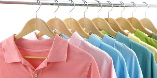 Pure Cotton Collar T-Shirt