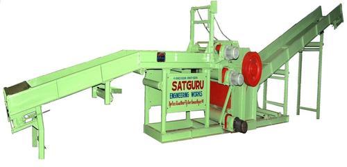Waste Wood Cutter Machine