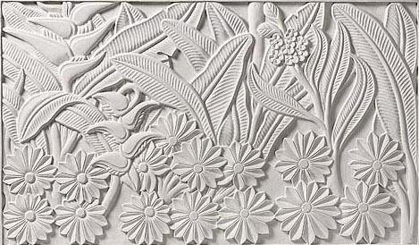 Designer Carving Stone Border