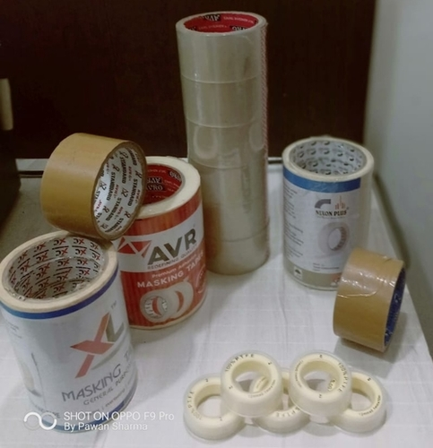 Bopp Self Adhesive Tapes in  5-Sector - Bawana