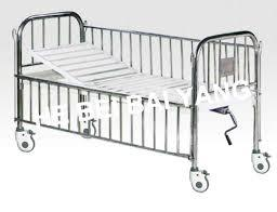 Adjustable SS Single Bed