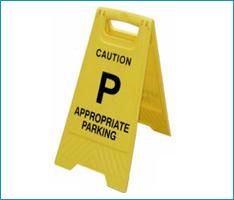 Parking Flow Sign