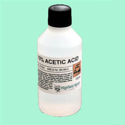 acetic acid and ink