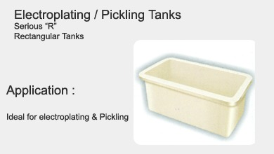 Acid Pickling Tanks