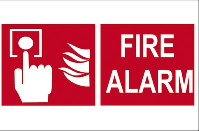 Fire Safety Sign Board