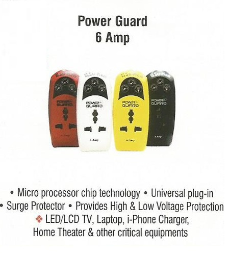 Power Guard 6 Amp in  R.K. Road
