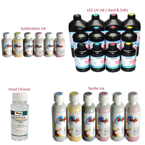 Hard And Soft Led Uv Ink, Textile Ink, Sublimation Ink, Head Cleaner in  Sidco Indl. Estate (Ambattur)