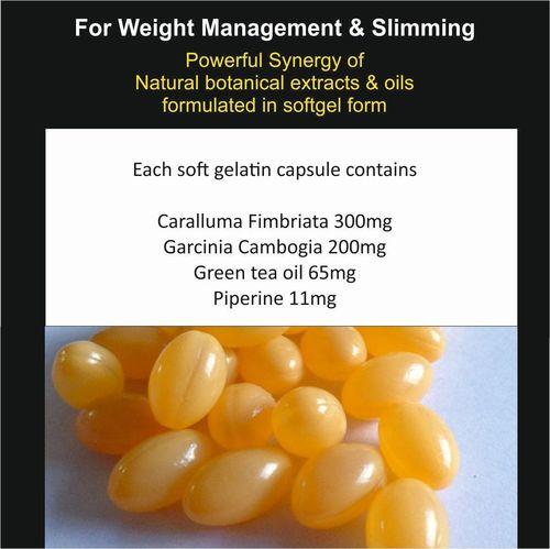 Garcinia Cambogia Caralluma Fimbriata Weight Loss Softgel Capsules