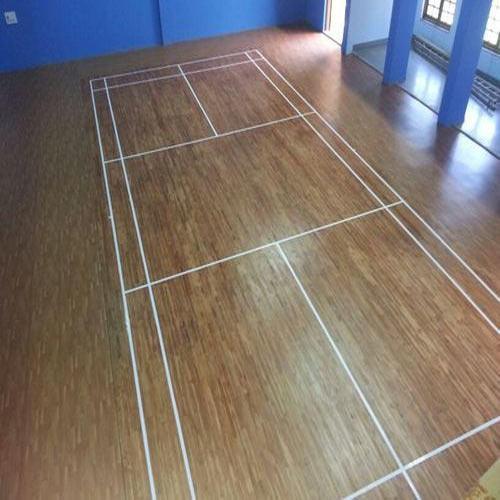 Badminton Wooden Flooring in   Reengus