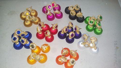 Handmade Silk Earrings