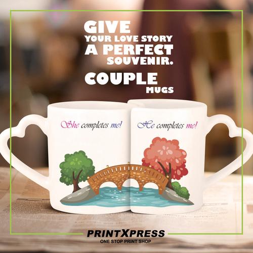 Valentines Printed Mugs