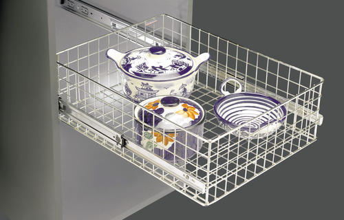 Stainless Steel Plain Baskets