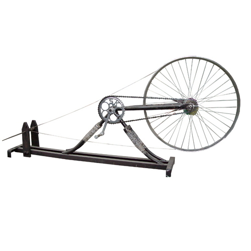 Cycle Charkha Machine