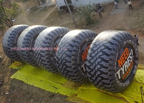Inflatable Tyres in  Gachibowli