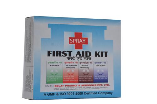 first aid spray kit in mumbai maharashtra eclat pharma. Black Bedroom Furniture Sets. Home Design Ideas