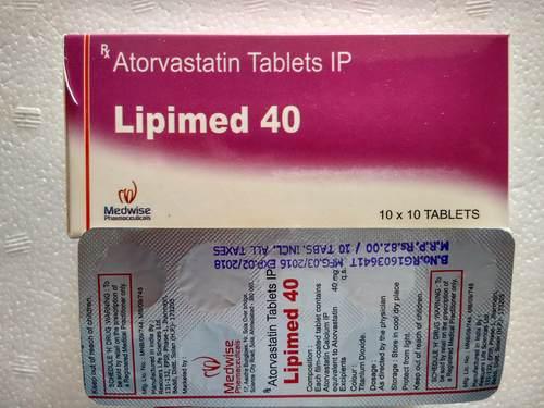 Lipimed 40 Atorvastatin Tablets 40mg