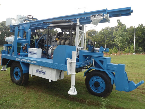 Self Propelled Trolley Mounted Portable Drill Rig in   S.P.S.R Nellore Dist.