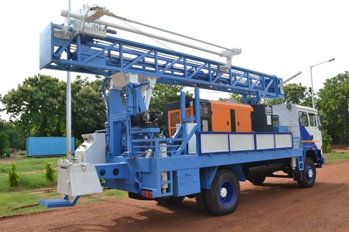 Truck Mounted Rotary Drill Ring in   S.P.S.R Nellore Dist.