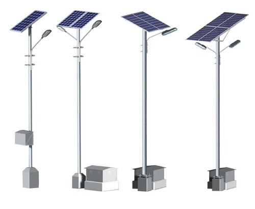Solar Street Light in   Trimandir